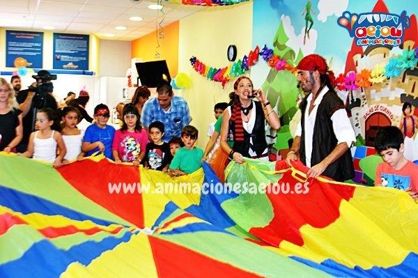 Animadores infantiles en Málaga