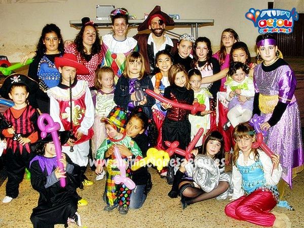 Fiestas de cumpleaños infantiles en Málaga