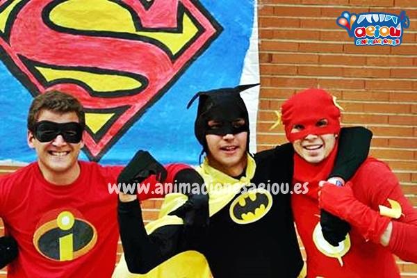 Fiestas para niños en Málaga