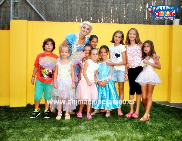 Animación para fiestas temáticas infantiles Frozen en Málaga a domicilio