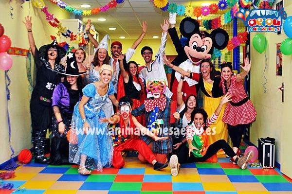 Animaciones para fiestas temáticas infantiles Frozen en Málaga