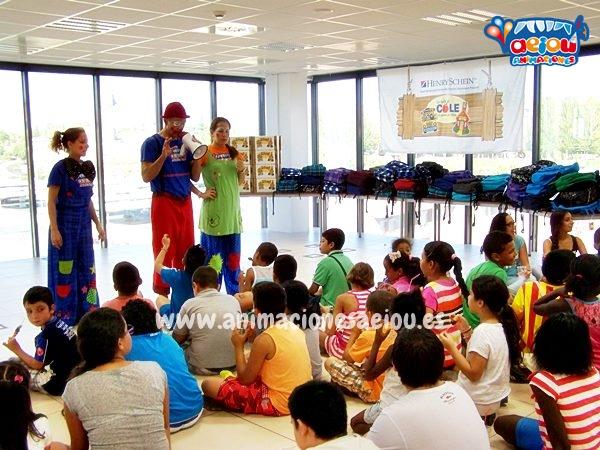 Animadores infantiles para fiestas en Málaga