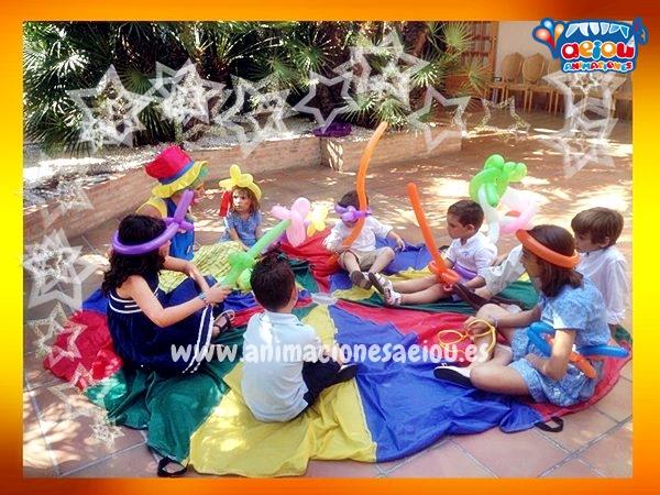 Animadores para fiestas infantiles en Málaga