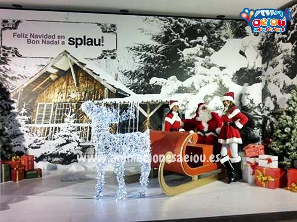 contratar la visita de Papá Noel a domicilio en Málaga