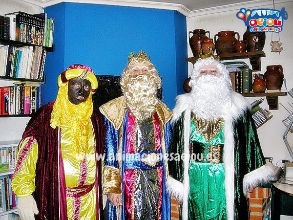 Contratar Reyes Magos a domicilio en Málaga