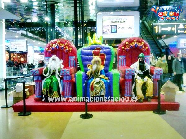 Contratar a los mejores Reyes Magos en Málaga