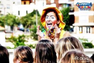 Animaciones para fiestas de cumpleaños infantiles y comuniones en Mijas