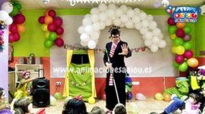 Animaciones para fiestas de cumpleaños infantiles y comuniones en Torremolinos